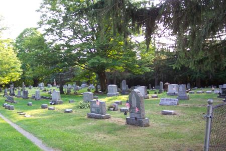 All Soul's Mass in Cemetery