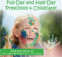 Happy Child. Click Here for More Information on Full Day-Day Preschool and Childcare