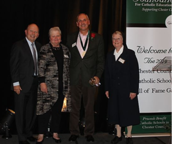 Chester County Catholic Schools Hall of Fame Gala