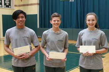Three Students from SS Philip & James Parish School have been named NEUMANN SCHOLARS!!