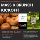 Rise & Ignite Youth Groups: Mass & Brunch Kickoff!