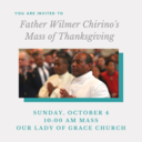 Father Wilmer Chirino's Mass of Thanksgiving