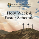 Holy Week & Easter Schedule
