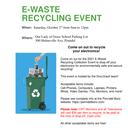 E-Waste Recycling Opportunity