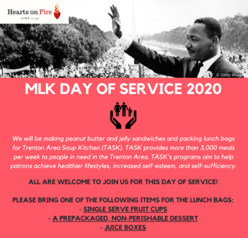 MLK National Day of Service Project