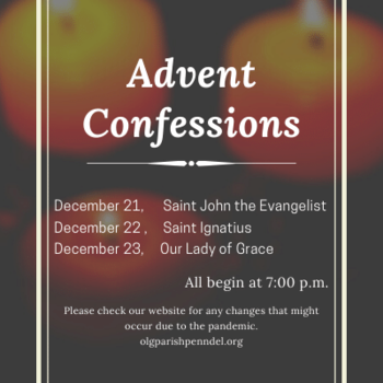 Advent Confessions