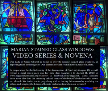 Marian Stained Glass Windows: Video Series & Novena