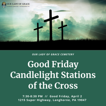 Good Friday Candlelight Stations of the Cross