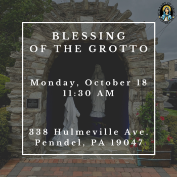 Blessing of the Grotto