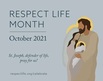 Respect Life Month - Baby Bottle Drive