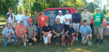 Men's Club Trap Shooting