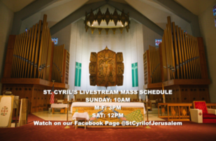 Watch LiveStream Mass