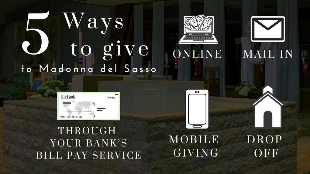 How you can donate.