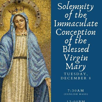 Solemnity of the Immaculate Conception of Virgin Mary
