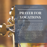 Archdiocesan Week of Prayer for Vocations - Monday, April 19 to April 24