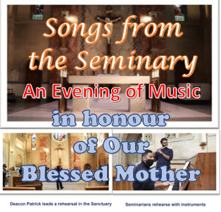 Songs From the Seminary: an Evening of Music in Honour of Our Blessed Mother - April 15 @ 7:00 pm