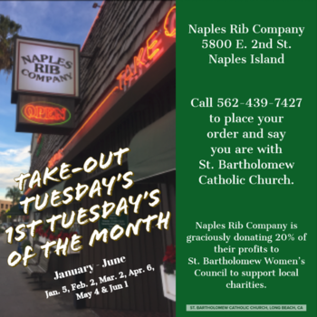 Take-Out Tuesday - March 2