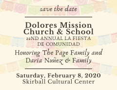 Save the Date for La Fiesta de Comunidad 2020!