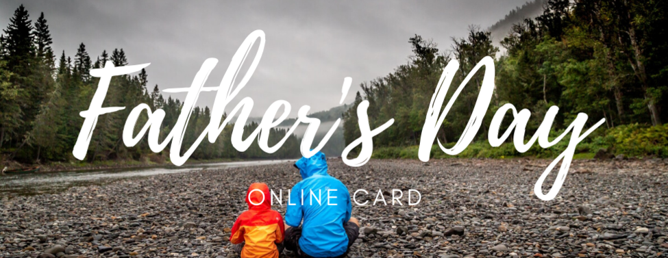 Banner for the Father's Day Online Card