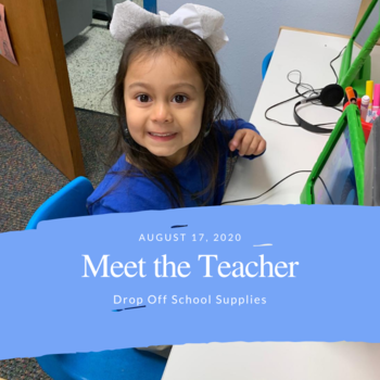 Meet the Teacher and Drop Off School Supplies for Lower Campus