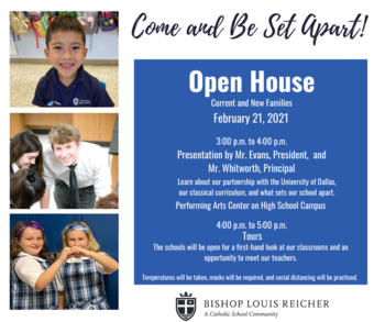 Open House on February 21