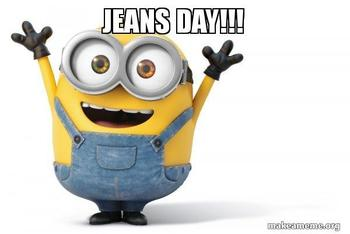Summer Reading Jeans Day