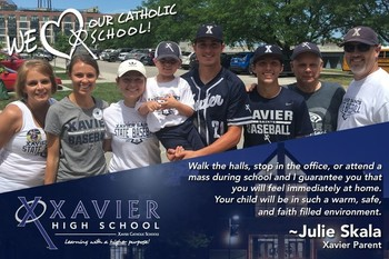 At Home in our Xavier Catholic Schools