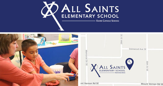 Logo: All Saints