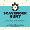 Scavenger Hunt for First Years