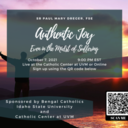 Authentic Joy: Even in the Midst of Suffering