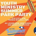 Youth Ministry Summer Park Party