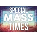 Tuesday Evening Mass Suspended