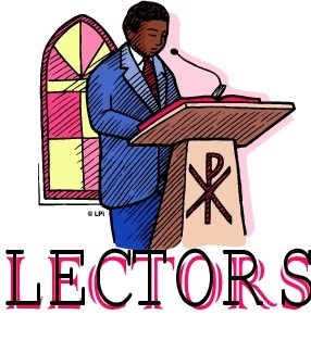 Lector/Commentator Training Sessions Scheduled February 18th and February 24th