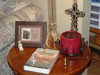 Create a Prayer Space in Your Home!
