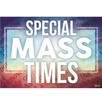 No Daily Mass Friday and no Reconciliation on Saturday
