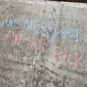 Chalk Art Makes its Way to Queen of Peace