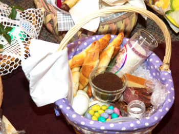 Prayer and a Blessing of Easter Foods for Parishioners