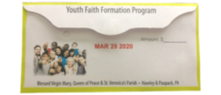 Online: Second Collection - Youth Faith Formation Program March 28/29