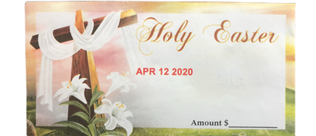 Holy Easter: April 12th