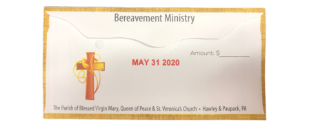 Second Collection Bereavement Ministry