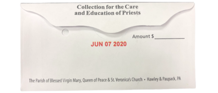 Second Collection For the Care and Education of Priests