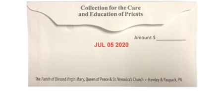 Second Collection Care and Education of Priests