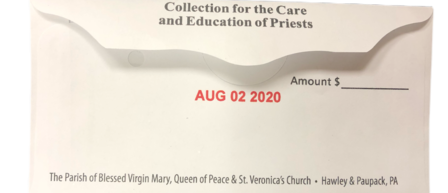 Collection for the Care of Education & Priests