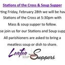 Stations of the Cross followed by Soup Suppers