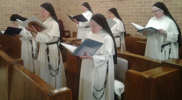 Dominican Nuns at the Monastery of the Infant Jesus, Lufkin TX