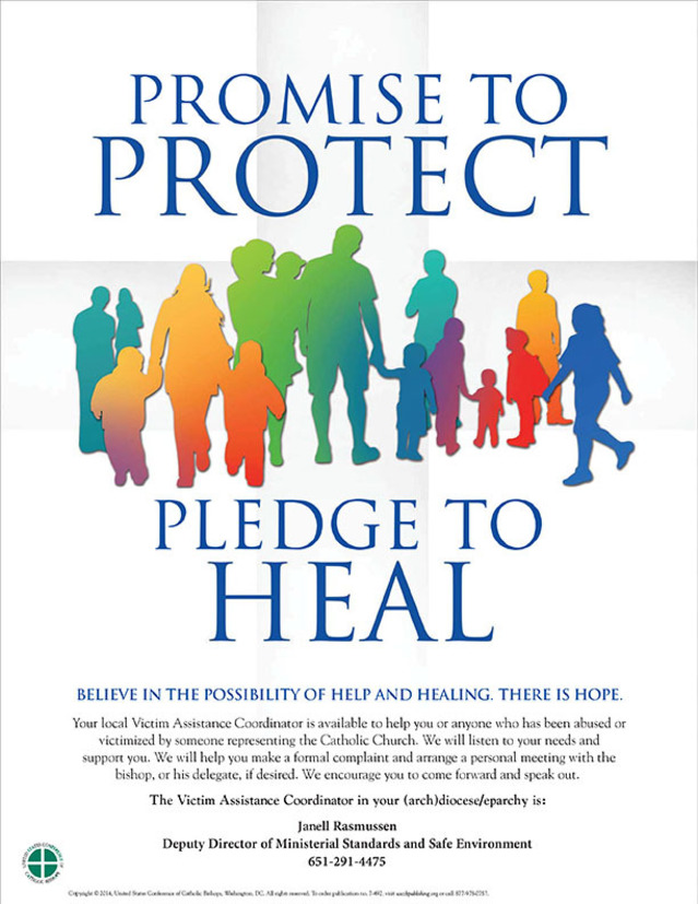 promise to protect. pledge to heal