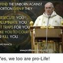 MMP National Director Message on Pope Francis