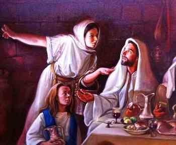 Why did Jesus reprimand Martha?