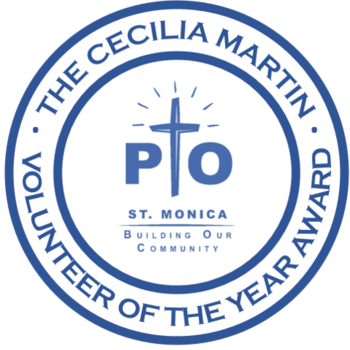 Announcing the Cecilia Martin PTO Volunteer of the Year Award