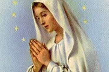 JOIN US FOR THE LIVING ROSARY!